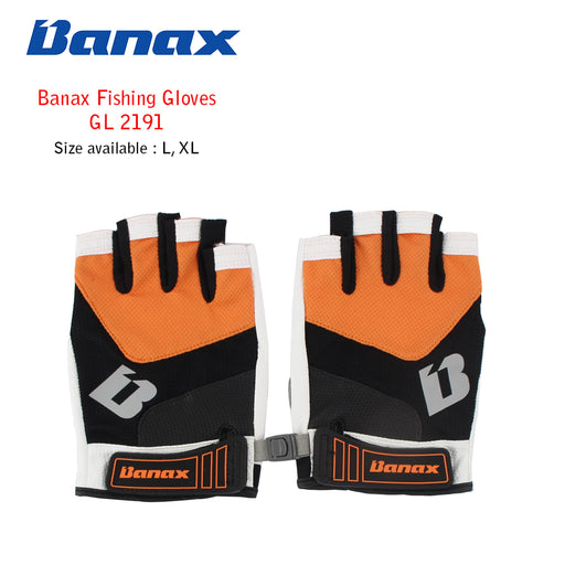 Banax Fishing Glove - GL 2191 Ora (5 cut)