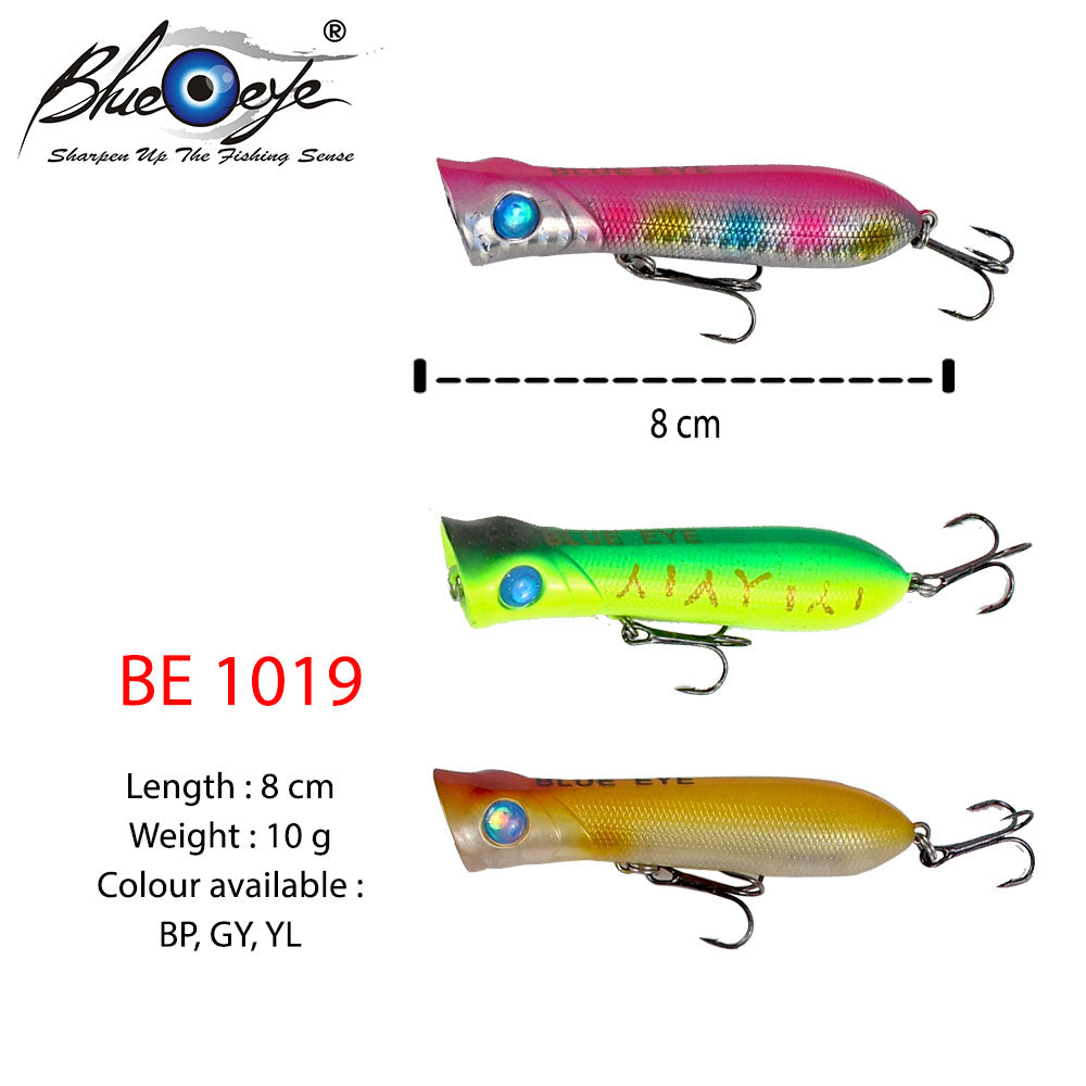 Blue  Eye Lure - BE 1019 #8cm/10g/1's