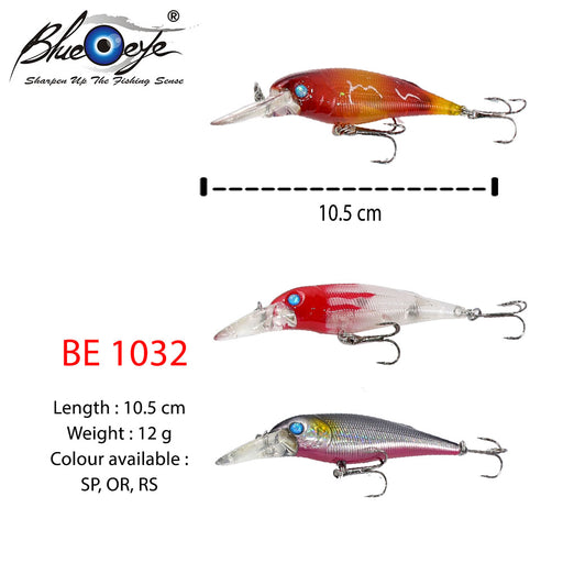 Blue  Eye Lure - BE 1032 #10.5cm/12g/1's