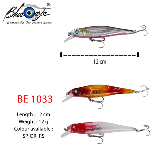 Blue  Eye Lure - BE 1033 #12cm/12g/1's