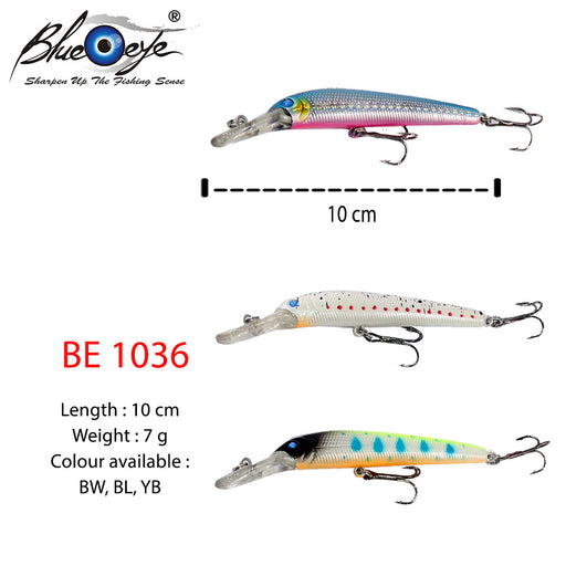Blue  Eye Lure - BE 1036 #10cm/7g/1's