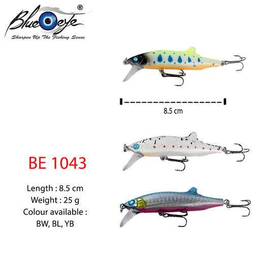 Blue  Eye Lure - BE 1043 #8.5cm/25g/1's