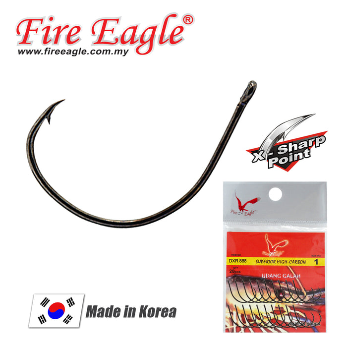 Fire Eagle Prawn Hook - DXR 888