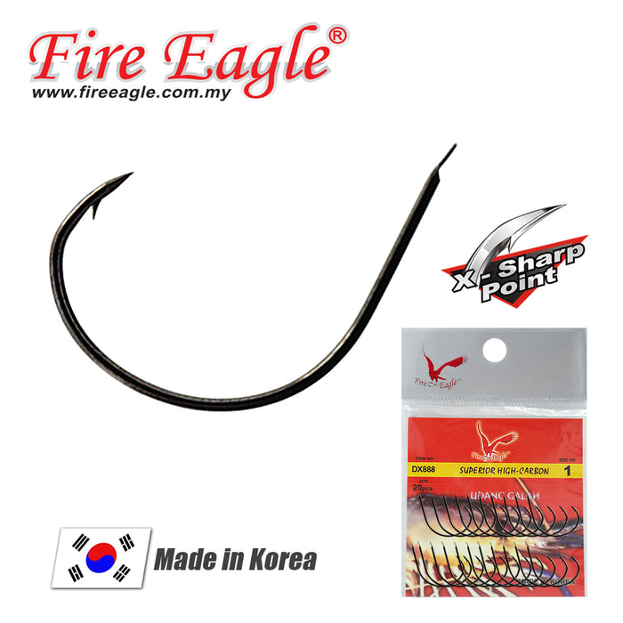 Fire Eagle Prawn Hook - DX 888