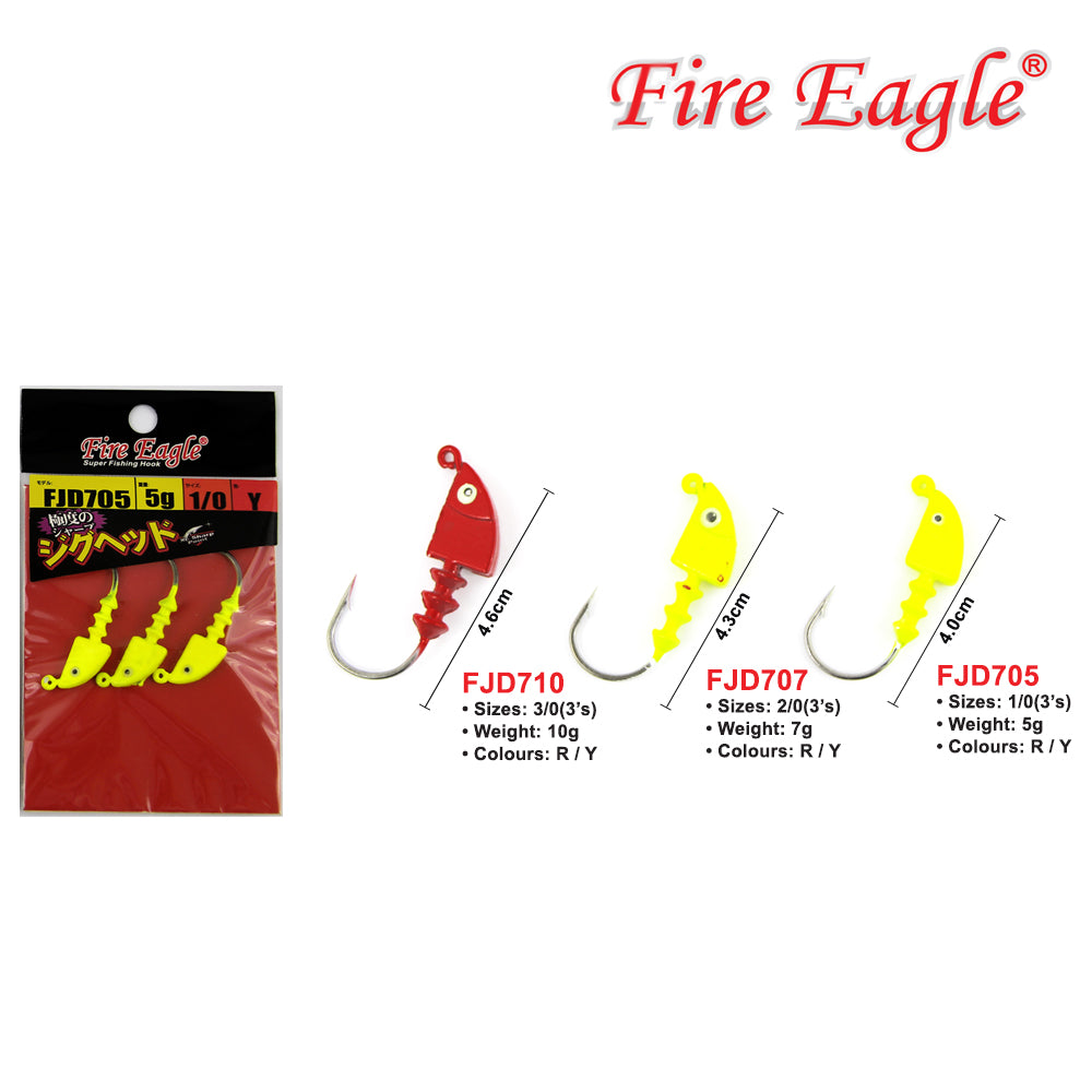Fire Eagle Jig Head - FJD  (710, 707, 705)