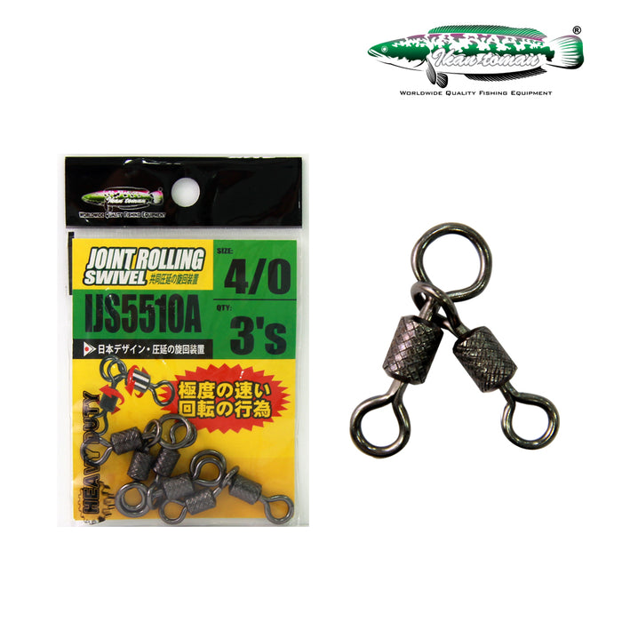 Ikan Toman - Joint  Rolling Swivel