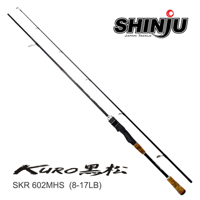 Shinju Spinning Rod - Kuro