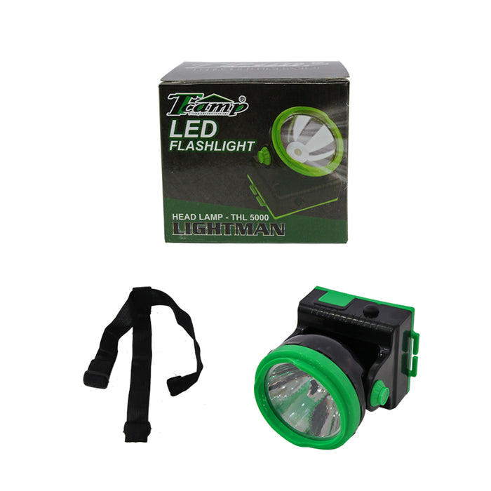 Fishing Tcamp LED Head Lamp Lightman / Camping / Hunting (3 X AA batteries) - THL 5000