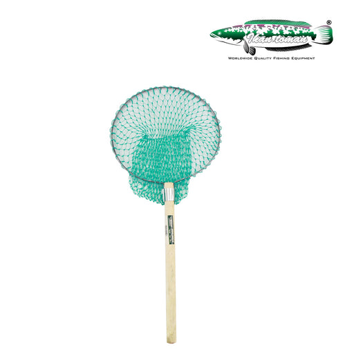 Ikan Toman - Wooden Landing Net Round (Poly)