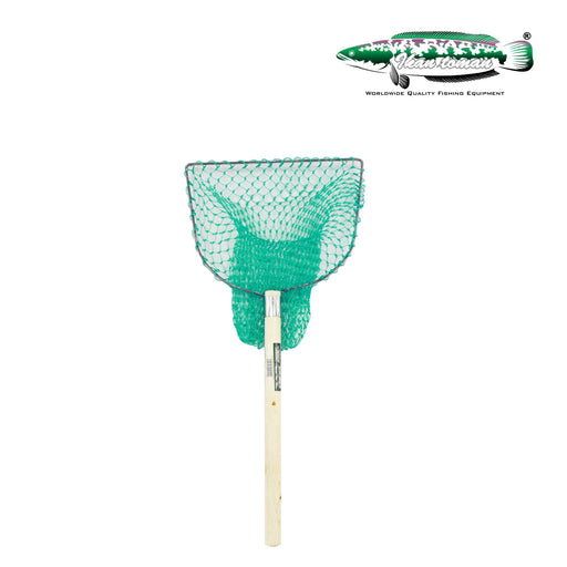Ikan Toman - Wooden Landing Net Square (Poly)