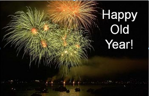 Happy Old Year...