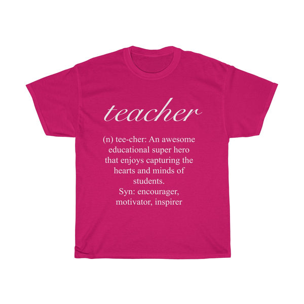 Teacher Tee (Original Design)