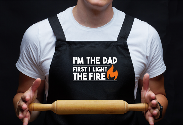 Grilling Apron for Dads #ecofriendly