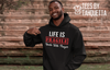 Life is Fragile Hoodie; Prayer Hoodie; Message of Prayer; Message of Life