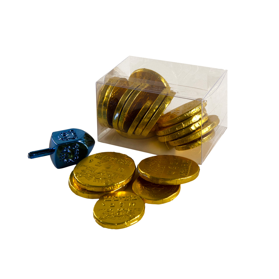 Gelt Box and Dreidel