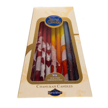 SAFED Multi-coloured Hanukah Candles