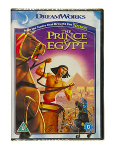 Prince of Egypt DVD