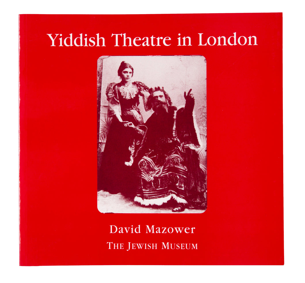 Yiddish Theatre in London Catalogue
