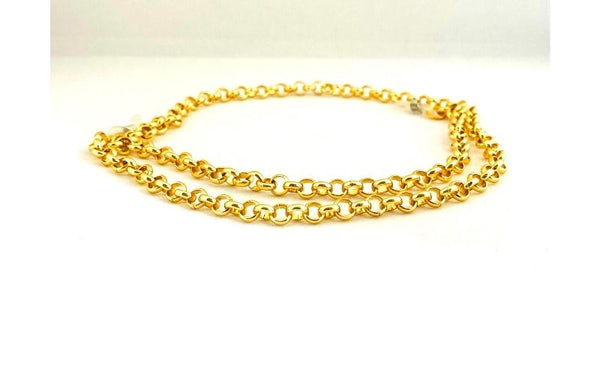 Small Gold Link Sunglasses Chain