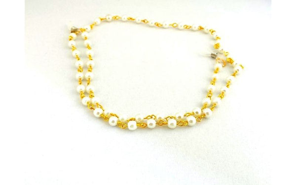 Pearl and Gold Link Sunglasses Chain