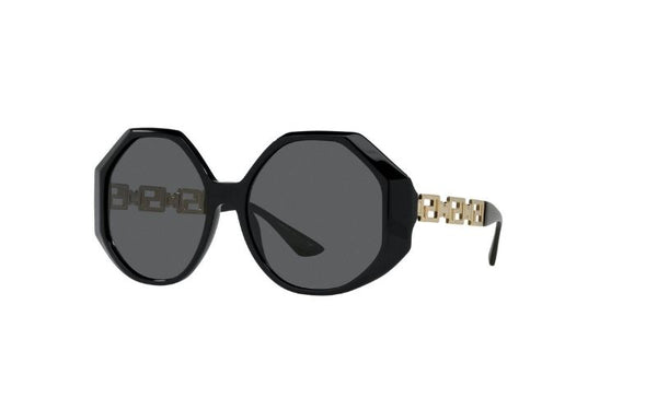 VERSACE 4395 Black with chain
