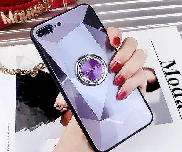2019 New 360 °Rotary Phone Comes With Diamond Ring Holder