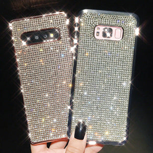 【Only $19.95 Today】2019 New Bling -Shaped Crystal Case For samsung