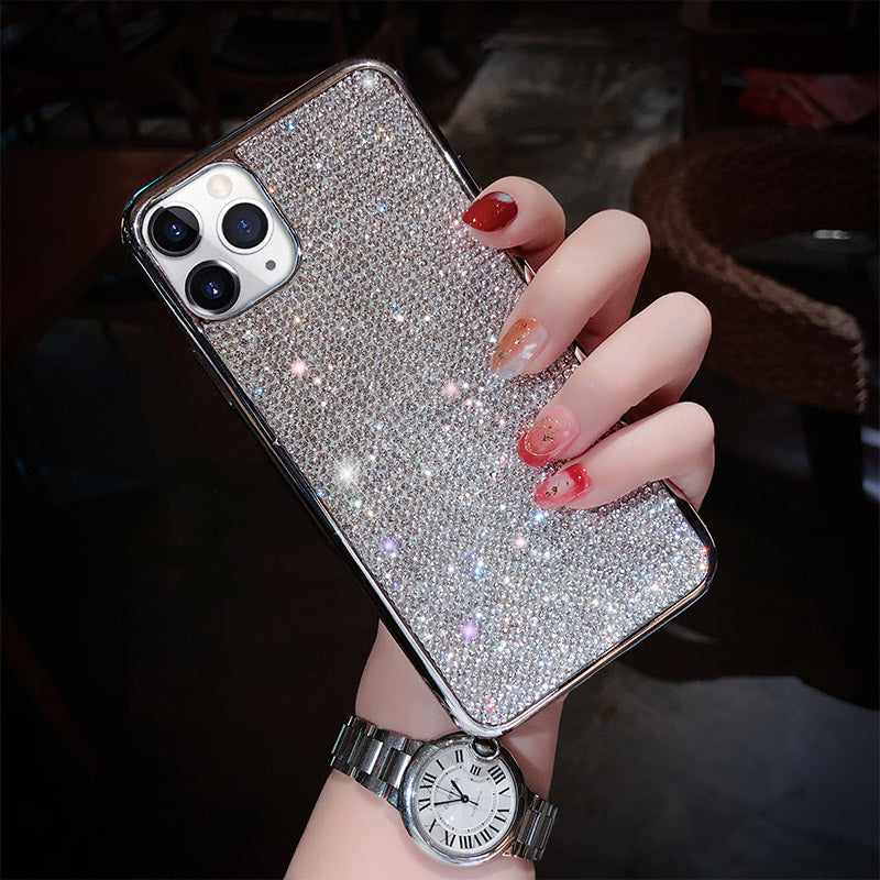 2020 New Bling -Shaped Crystal Case For iPhone