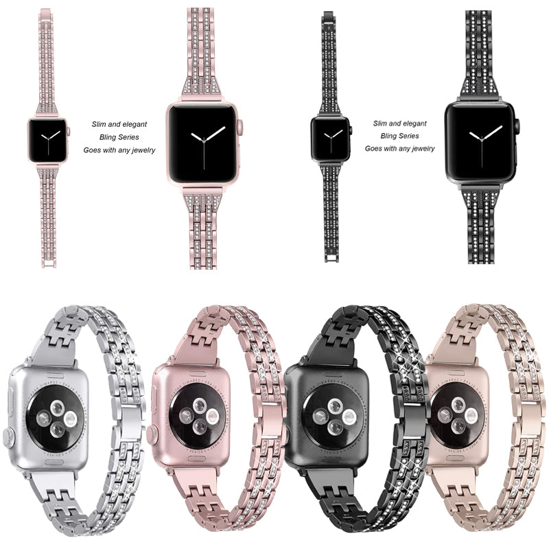 Diamond Watch Band Universal 20mm/22mm(ONLY $19.95 The Last Day)