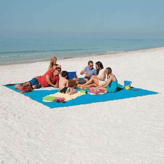 ( ONLY TODAY 65% OFF)-Sand Free Beach Mat