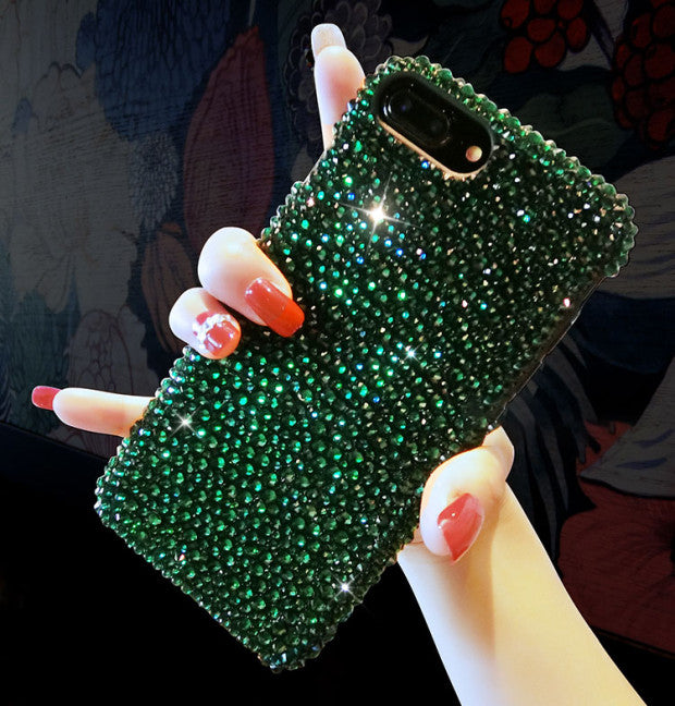 2019 New Bling -Shaped Crystal Case For iPhone
