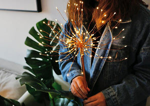 LED Copper Wire Firework Light