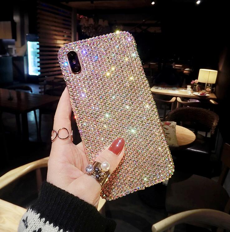 2019 New Bling -Shaped Crystal iPhone Case