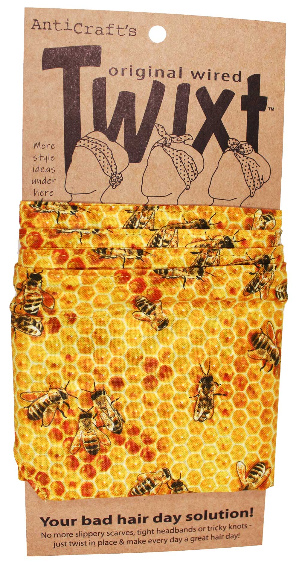 Honey Bee -Twixt / Wired Head Wrap