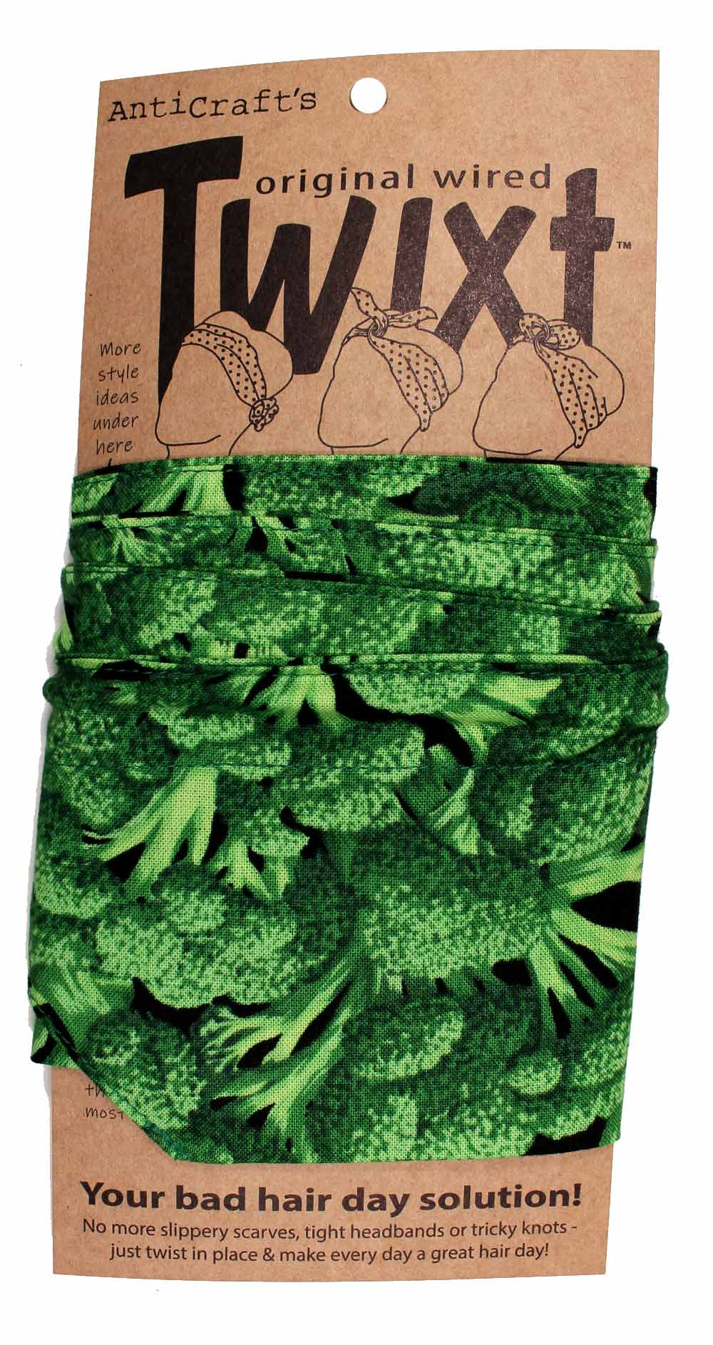 Vegetable Broccoli - Twixt / Wired Head Wrap
