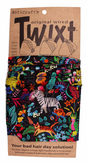 Colourful Jungle - Twixt / Wired Head Wrap