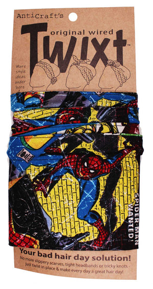 Comic Marvel Superhero Characters - Twixt / Wired Head Wrap