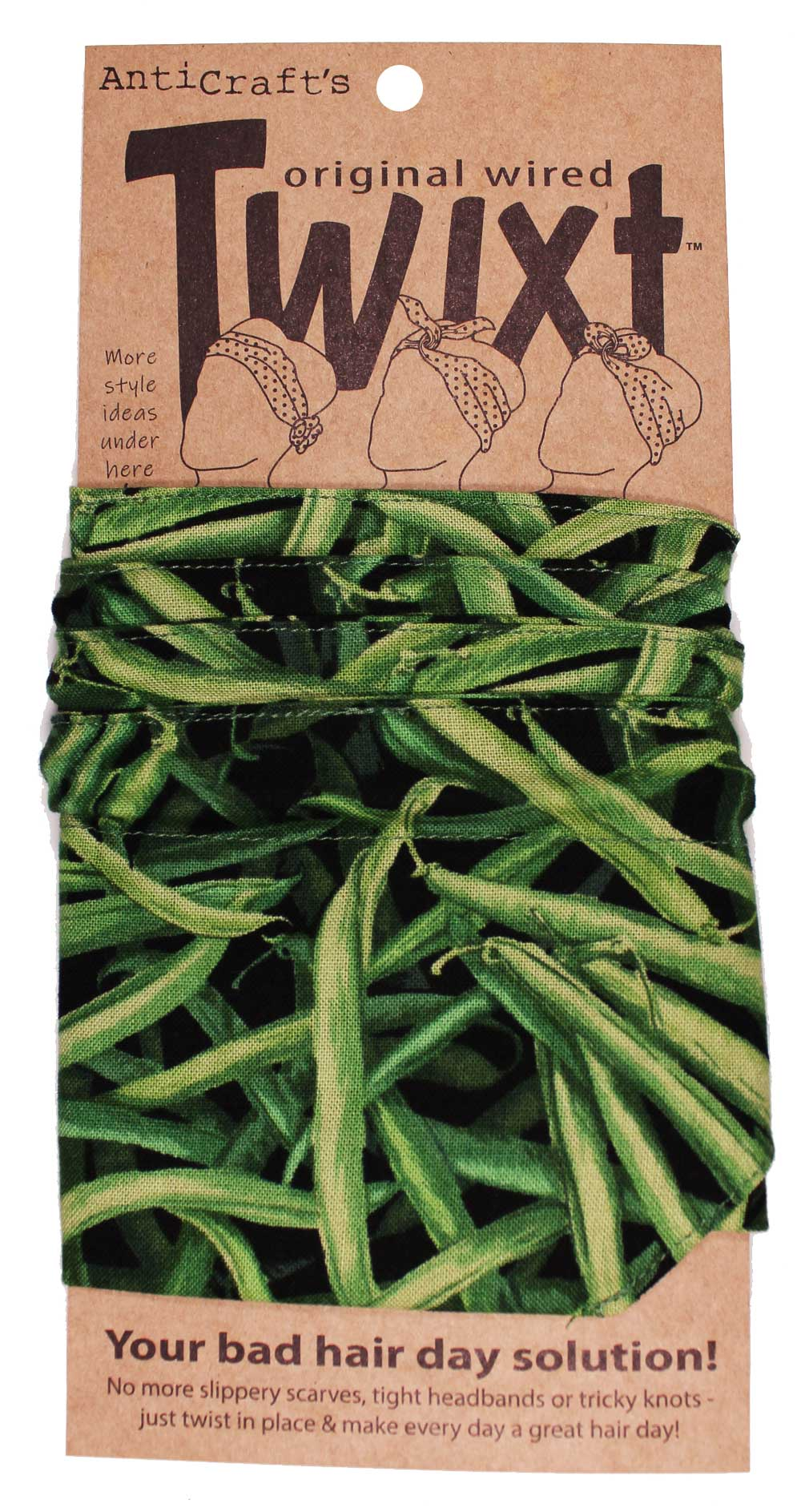 Vegetable Green Beans - Twixt / Wired Head Wrap