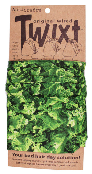 Vegetable Kale - Twixt / Wired Head Wrap