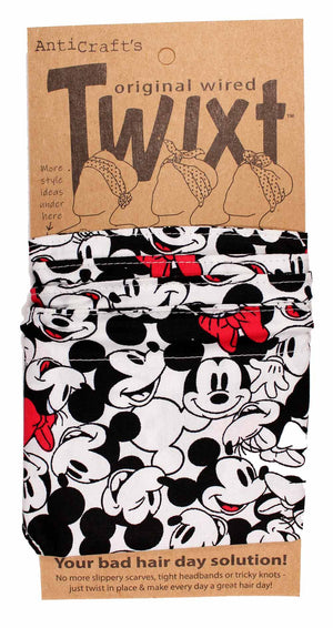 Mickey Mouse - Twixt / Wired Head Wrap