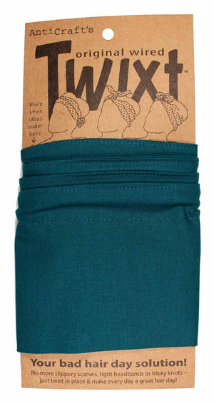 Plain Teal Green - Twixt / Wired Head Wrap
