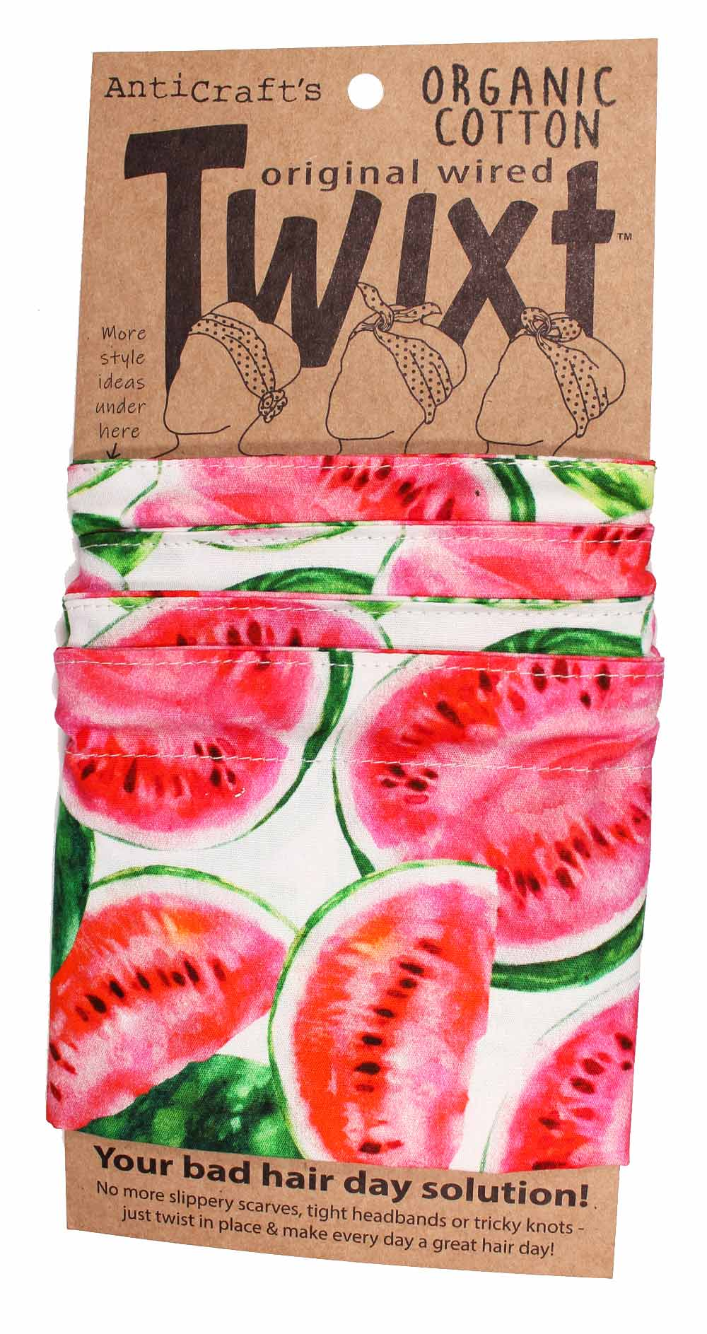 Watermelon - Twixt / Wired Head Wrap