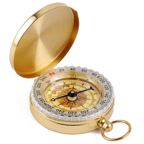 Camping Survival Compass, Glow in the Dark Military Compass