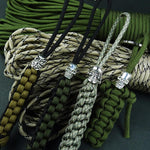Outdoor Pendant Flashlight Pendant Parachute Cord Key Chain Parachute Cord Decoration
