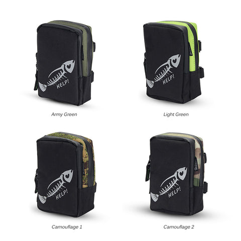 Fly Fishing Bag Portable Mini Fishing Tackle Gear Bag Pocket Fishing Tackle Pouch Outdoors Sports Bag
