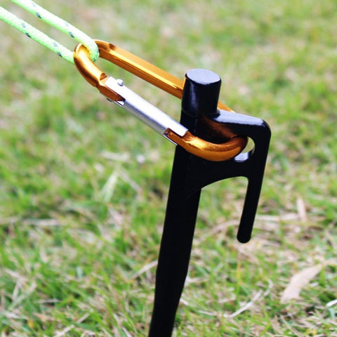 Sand Pegs Tent Pegs Steel Tent Nail Tent Stake Nails Ground Pin Camping Hiking Outdoor Tool Tent Accessories