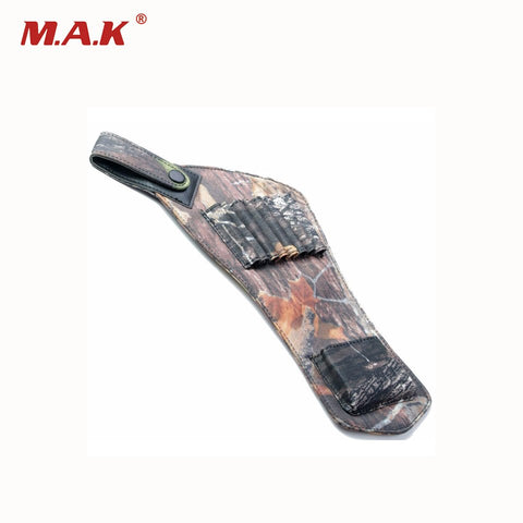 8 Arrow Slot Oxford Cloth Arrow Quiver with Bionic Camo Color and waterproof Fabric Archery Supplies for Hunting/Shooting