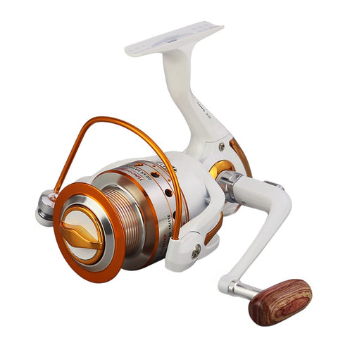 12+1 BB Fishing Reel Left/Right Interchangeable Collapsible Handle Fishing Spinning Reel Ultra Light Smooth Reel