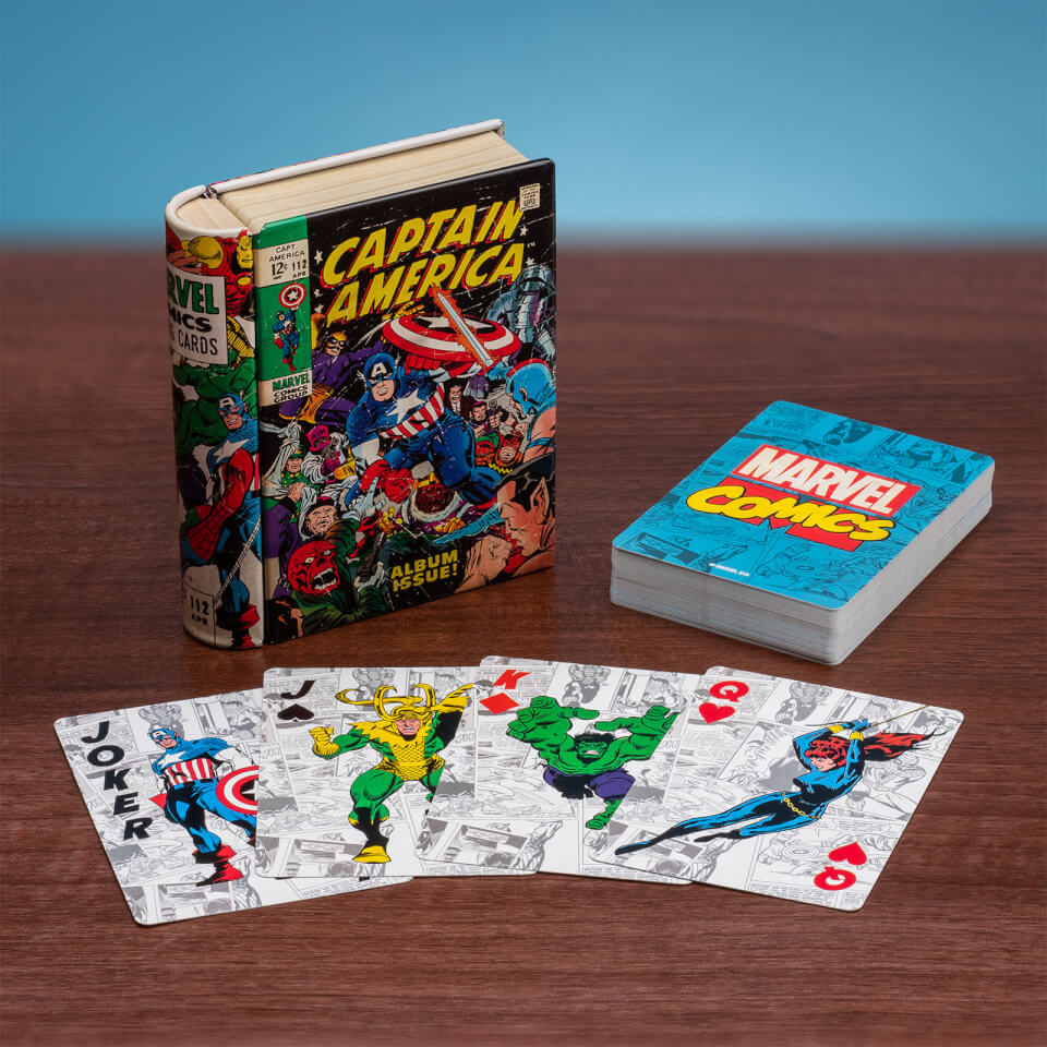 Marvel Comic Book karte
