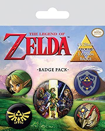 The Legend Of Zelda set bedževa